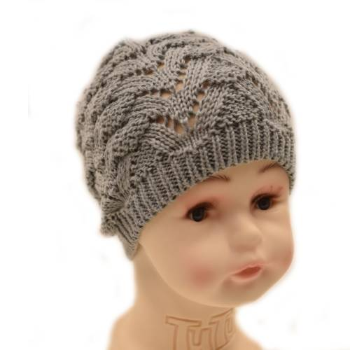 Heegeldatud müts beebitüdrukule