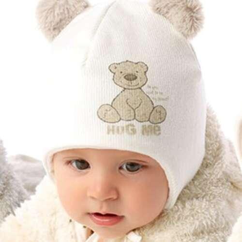 Laste talvemüts kahe tutiga