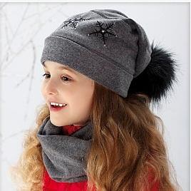 Talvemüts lastele voodriga