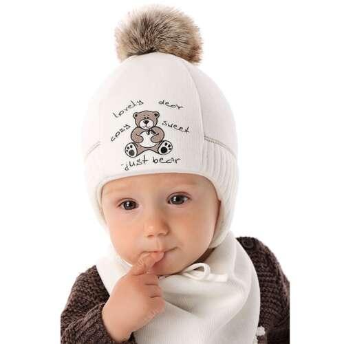 Väikelaste talvemüts tutiga
